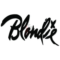 Blondie Music Rock Band Decal Sticker Style 2