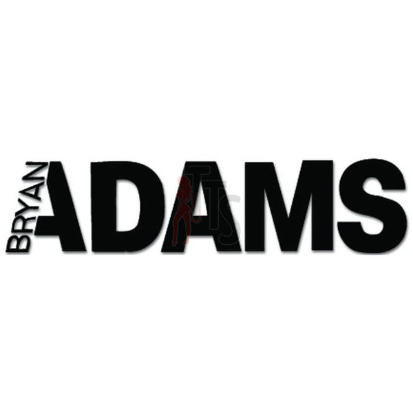 Bryan Adams Music Rock Band Decal Sticker