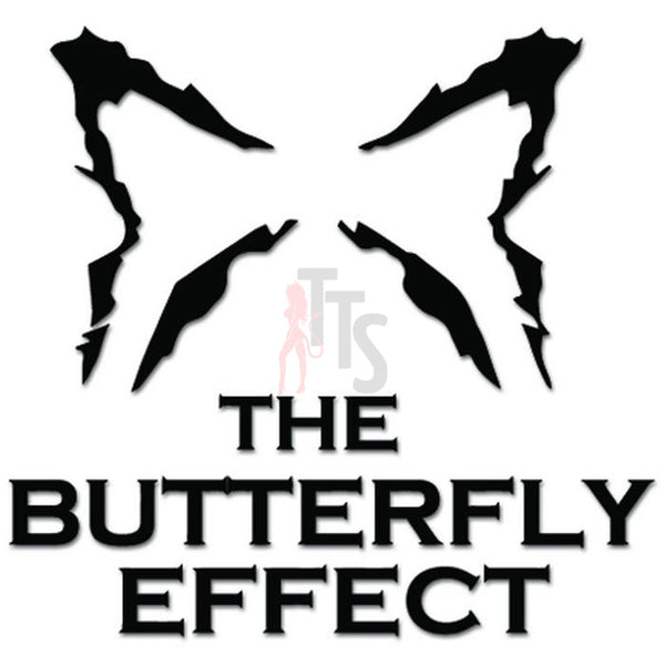 The Butterfly Effect Music Rock Band Decal Sticker