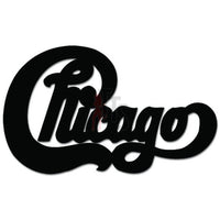 Chicago Music Rock Band Decal Sticker Style 2