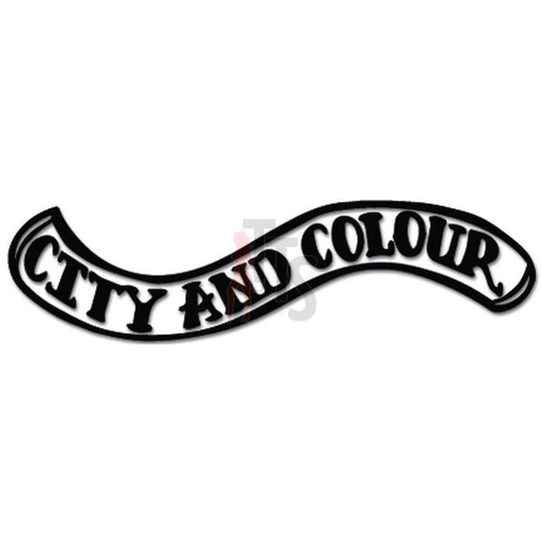 City and Color Music Rock Band Decal Sticker
