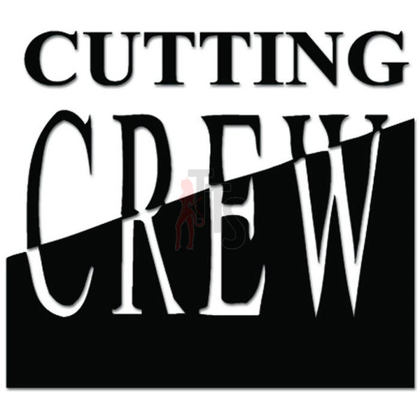 Cutting Crew Music Rock Band Decal Sticker