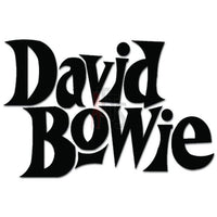 David Bowie Music Rock Band Decal Sticker