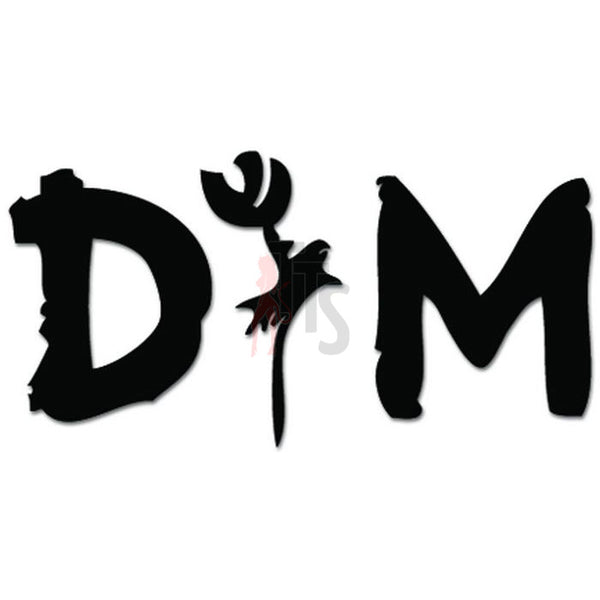 Depeche Mode Music Rock Band Decal Sticker Style 3