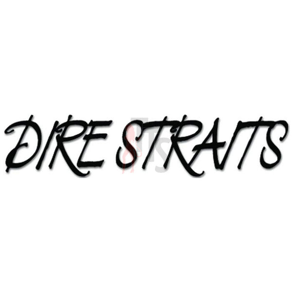 Dire Straits Music Rock Band Decal Sticker