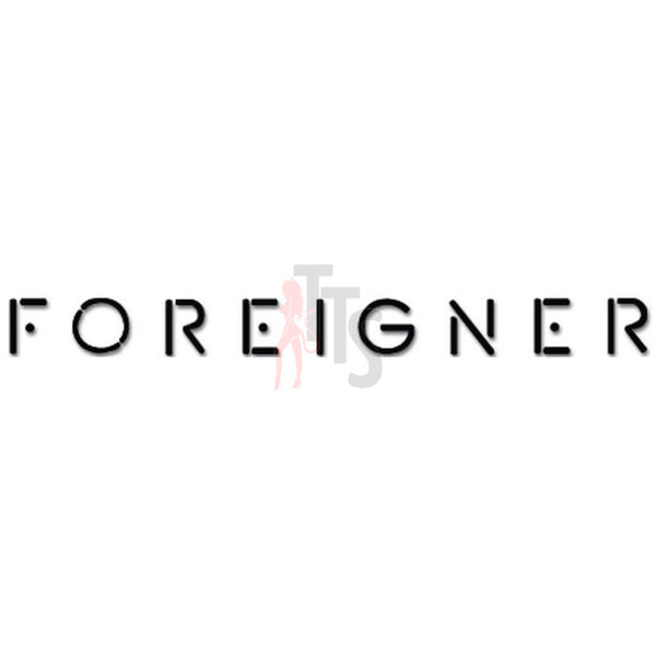 Foreigner Music Rock Band Decal Sticker