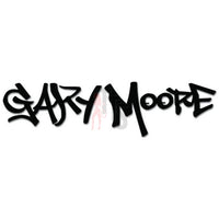 Gary Moore Music Rock Band Decal Sticker