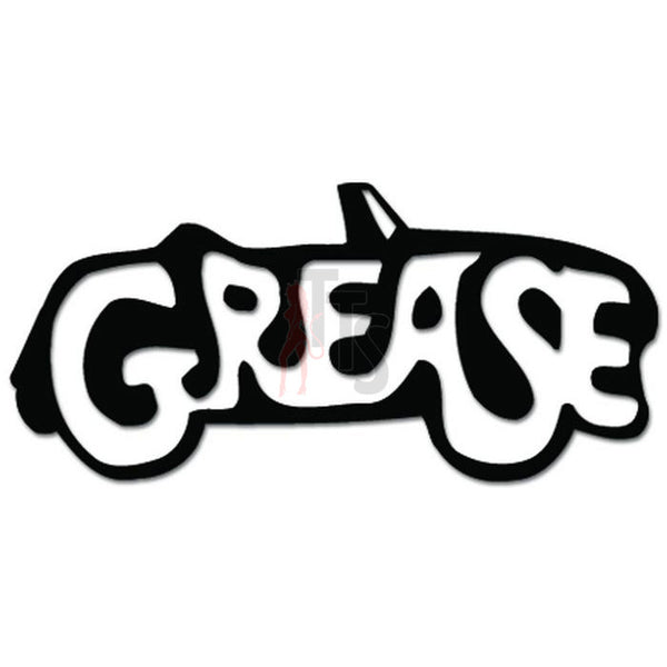 Grease Music Rock Band Decal Sticker