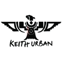 Keith Urban Music Rock Band Decal Sticker