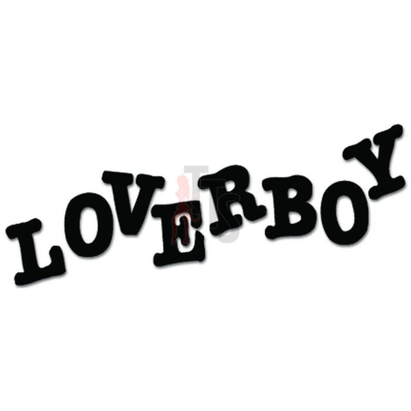Loverboy Music Rock Band Decal Sticker