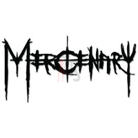 Mercinary Music Rock Band Decal Sticker