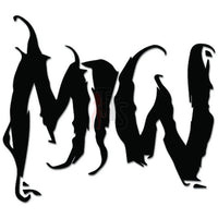 Motionless In White Music Rock Band Decal Sticker