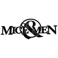 Of Mice and Men Ampersand Music Rock Band Decal Sticker Style 1