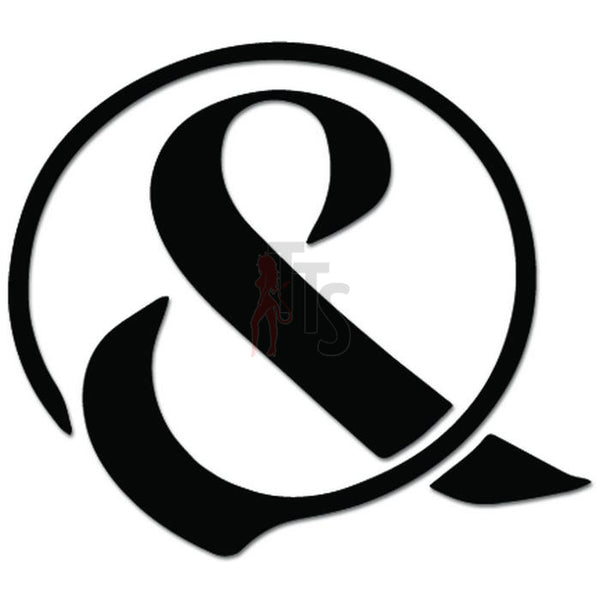 Of Mice and Men Ampersand Music Rock Band Decal Sticker Style 2