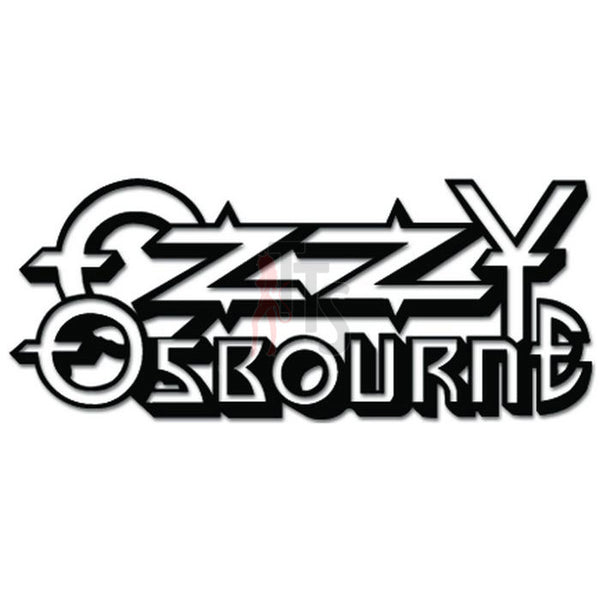 Ozzy Ozbourne Music Rock Band Decal Sticker Style 2