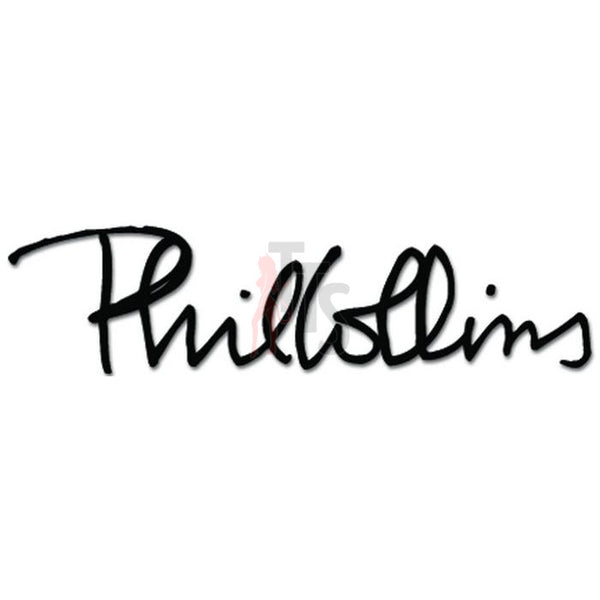 Phil Collins Music Rock Band Decal Sticker