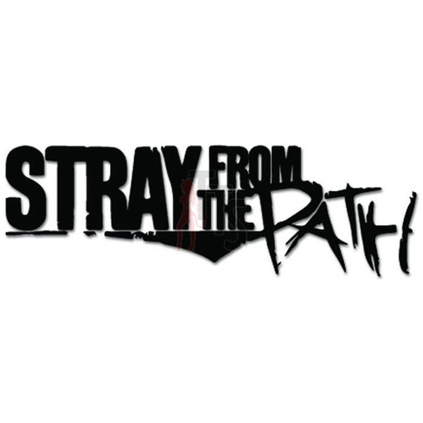 Stray From The Path Music Rock Band Decal Sticker