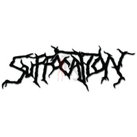 Suffocation Music Rock Band Decal Sticker