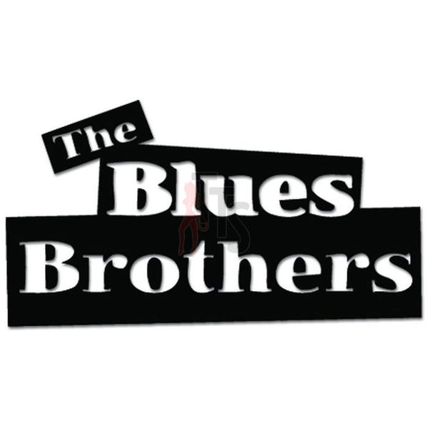 The Blues Brothers Music Rock Band Decal Sticker