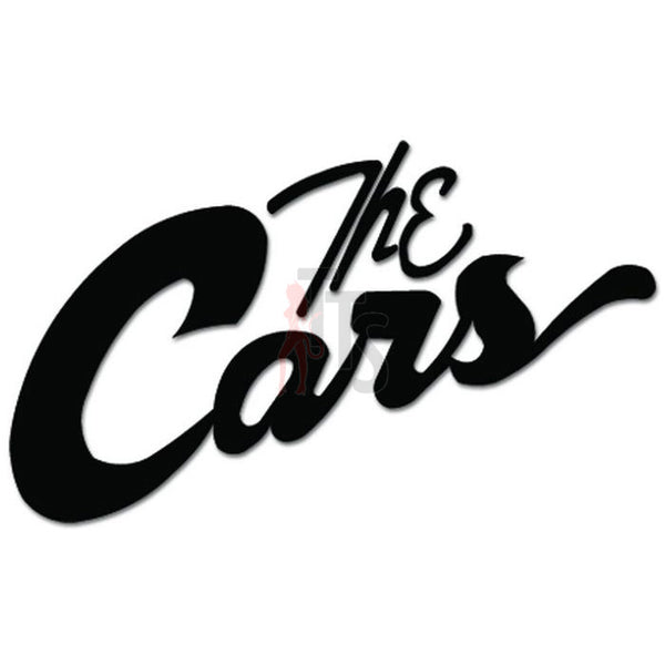 The Cars Music Rock Band Decal Sticker