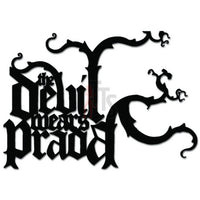 The Devil Wears Prada Music Rock Band Decal Sticker