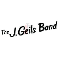 The J. Geils Band Music Rock Band Decal Sticker