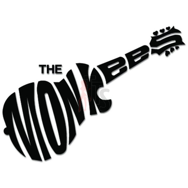 The Monkees Music Rock Band Decal Sticker Style 2