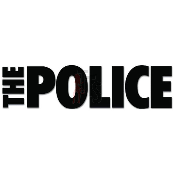 The Police Music Rock Band Decal Sticker