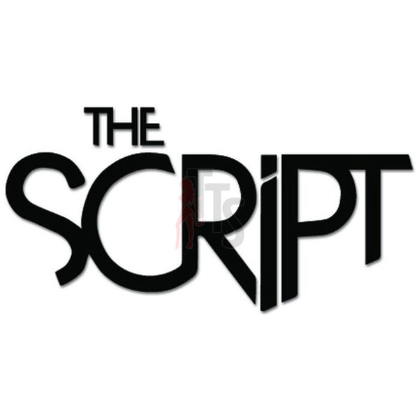 The Script Music Rock Band Decal Sticker