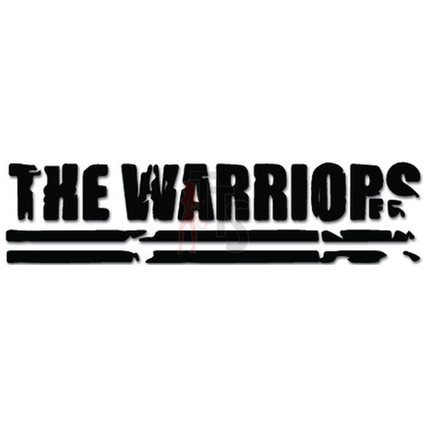 The Warriors Music Rock Band Decal Sticker