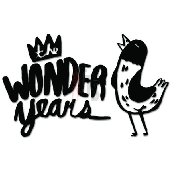 The Wonder Years Music Rock Band Decal Sticker