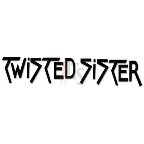 Twisted Sister Music Rock Band Decal Sticker Style 2