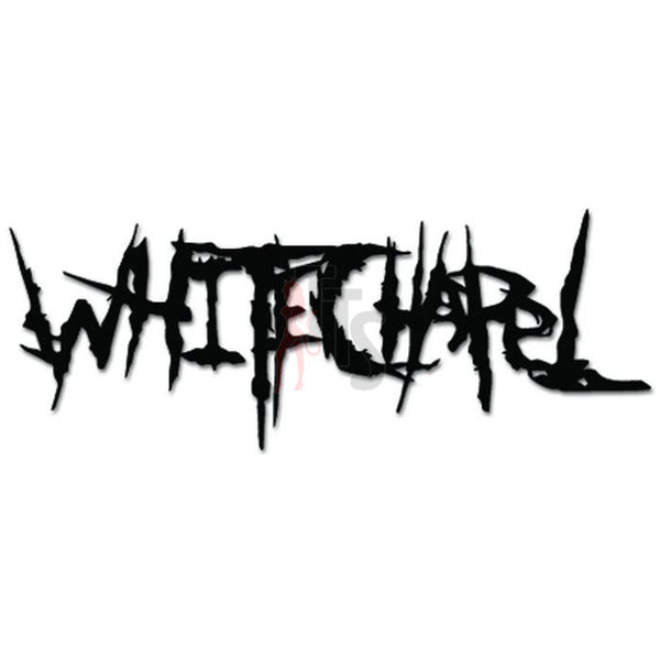 White Chapel Music Rock Band Decal Sticker