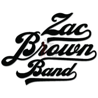 Zac Brown Band Music Rock Band Decal Sticker Style 1