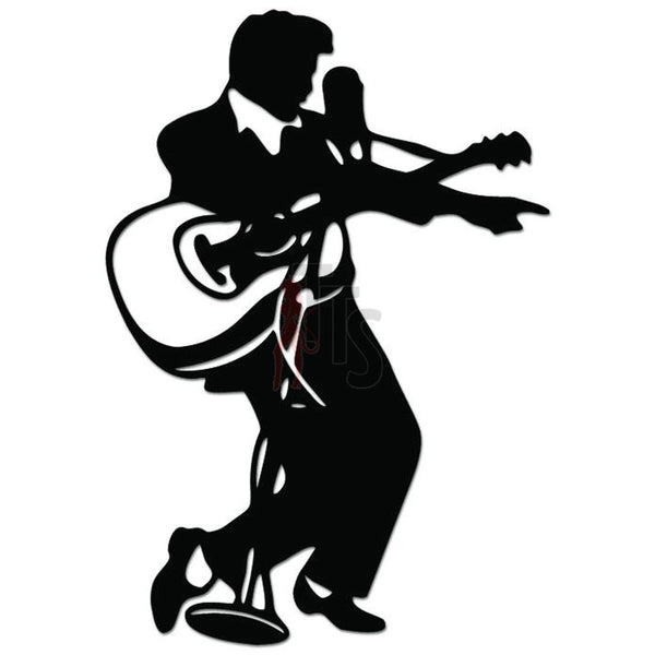 Elvis Presley Music Rock Band Decal Sticker Style 1