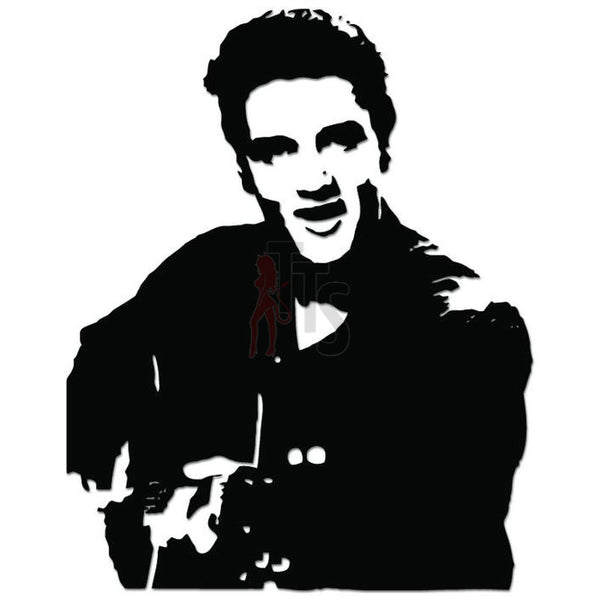 Elvis Presley Music Rock Band Decal Sticker Style 2
