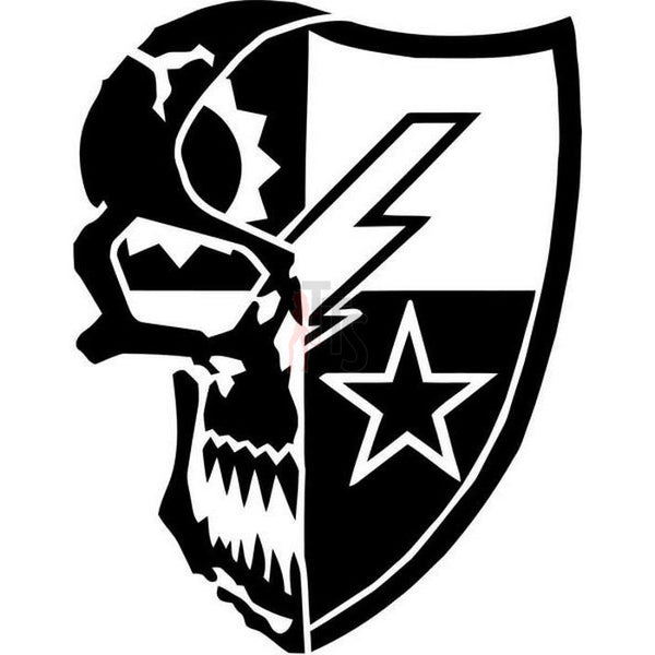 Death Skull 75th Ranger Regiment Decal Sticker