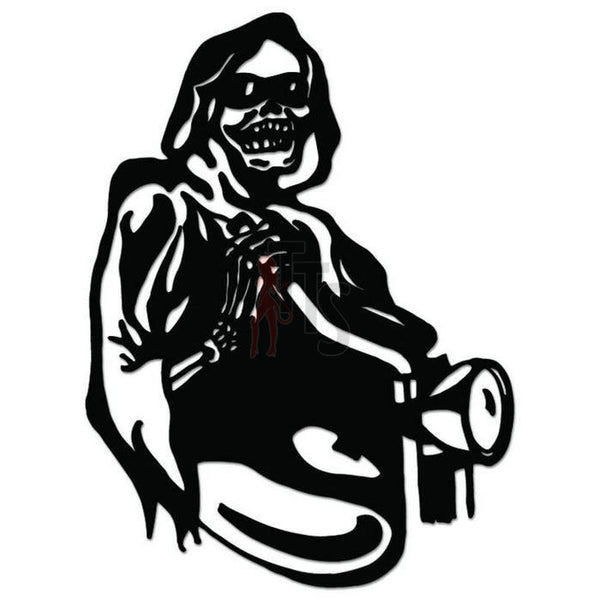 Biker Grim Reaper Death Decal Sticker