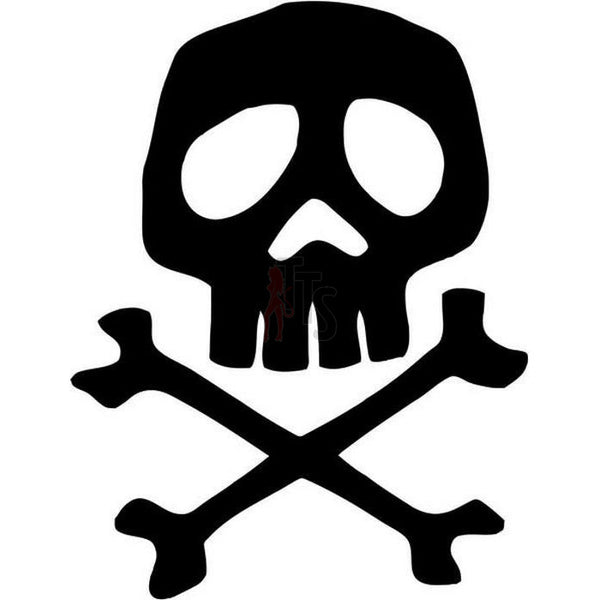 Death Skull Captain Harlock Space Pirate Decal Sticker