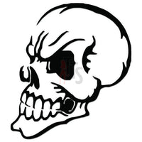 Death Skull Decal Sticker Style 7