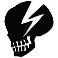 Death Skull Decal Sticker Style 8