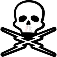 Skull Death Proof Grindhouse Decal Sticker