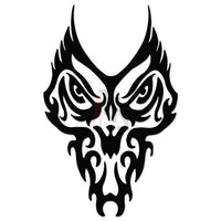 Death Skull Tribal Art Decal Sticker Style 1