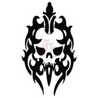 Death Skull Tribal Art Decal Sticker Style 4