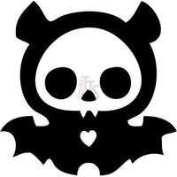 Diego Bat Skelanimal Skull Decal Sticker