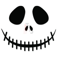 Death Skull Jack Skellington Decal Sticker Style 1