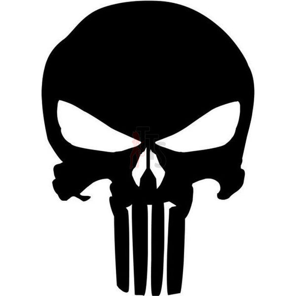 Death Skull The Punisher Decal Sticker Style 3