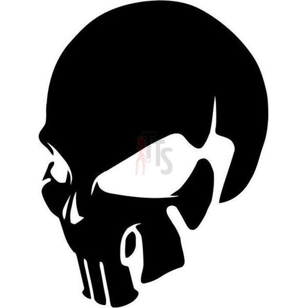 Death Skull The Punisher Tribal Art Decal Sticker