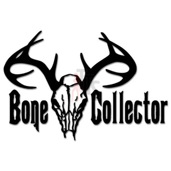 Hunting Deer Buck Antlers Bone Collector Decal Sticker