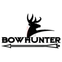 Hunting Deer Buck Bowhunter Decal Sticker